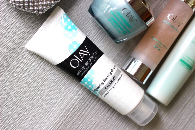 Olay White Radiance Brightening Foaming Cleanser Review
