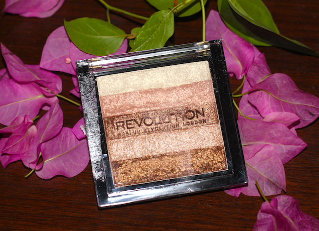 Makeup Revolution Vivid Shimmer Brick Radiant Review Swatches Photos