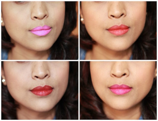 Maybelline Vivid Matte Lipsticks review photos swatches price india