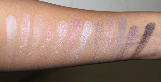 Maybelline The Blushed Nudes Palette Review Swatches Photos Demo