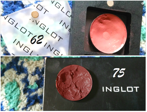 Inglot Freedom System Lipsticks 62 & 75 Review Photos Swatches