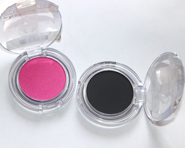 The Body Shop Colour Crush Eye Shadow 015, 310 Review Swatches Photos