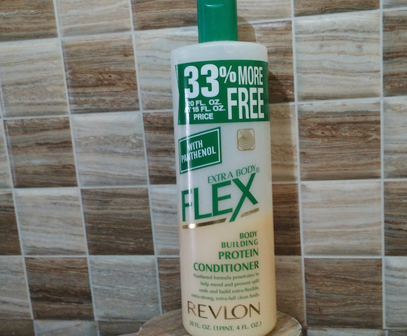 Revlon Extra Body Flex Body Building Protein Conditioner Review