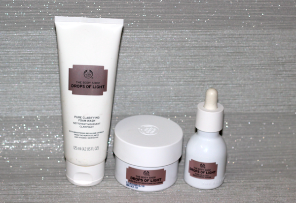 DOL RangeThe Body Shop Drops Of Light Pure Healthy Brightening range Review