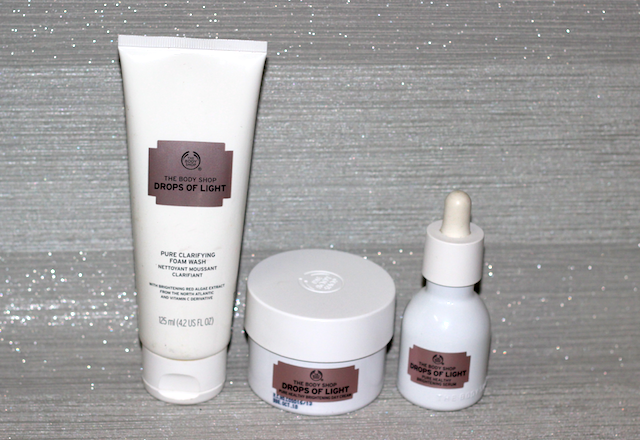 The Body Shop Drops Of Light Brightening Serum, Day Cream, Face Wash Review