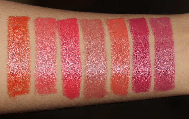 7 Faces Ultime Pro Creme Lip Crayons Review Swatches Price