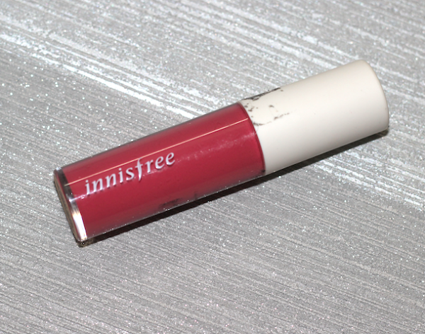 Innisfree Glossy Lip Lacquer 03 Review Swatches Photos