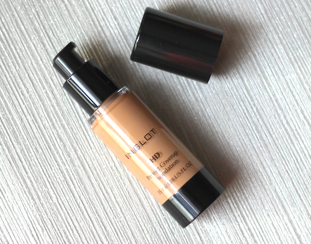 Inglot HD Perfect Coverup Foundation Review Price Photos