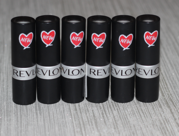 Revlon Matte Lipsticks - Terracotta Pink, Fabulous Fig, Matte Brownie, Spicy Red, Lavender Chill, Matte Wine