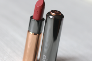 Kiko Gossamer Emotion (105) Creamy Lipstick Review Photos Swatches