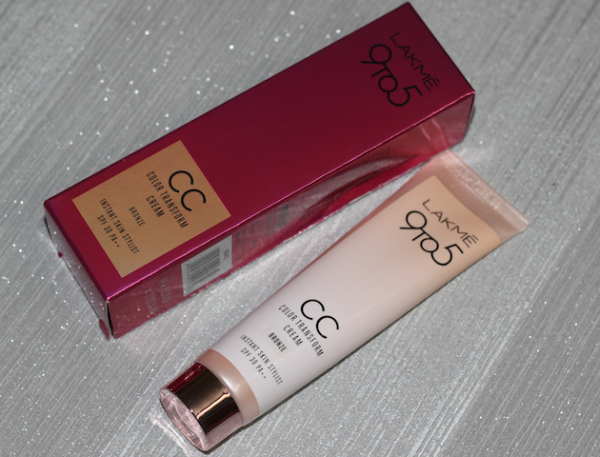 Lakme 9To5 CC Color Transform Cream Bronze Review swatches photos price