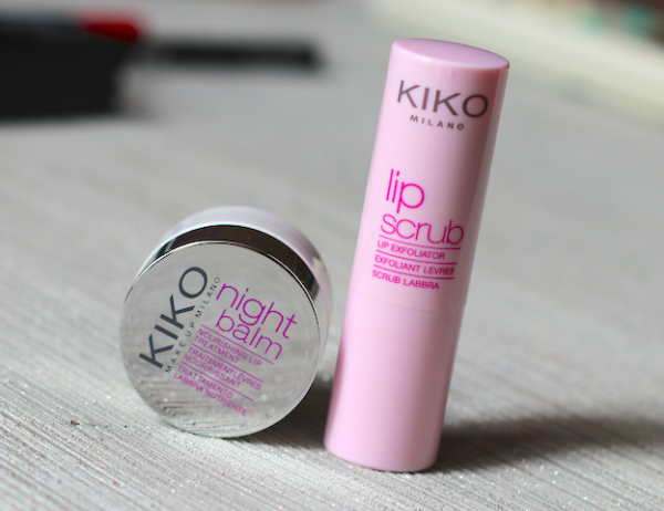Kiko Lip Scrub & Night Balm Review Photos Price