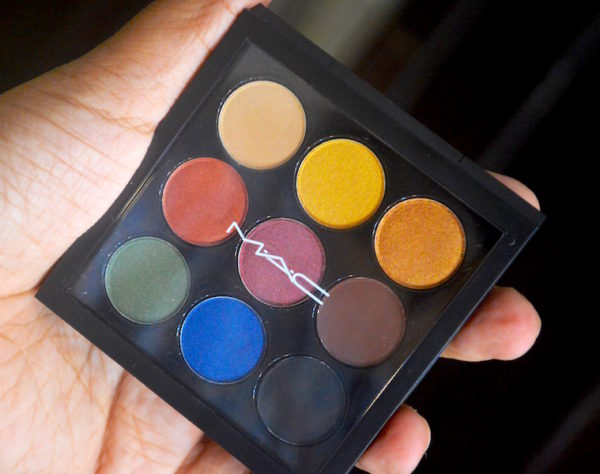 MAC Light Festival Eyeshadow Palette Review - Diwali Lights Collection
