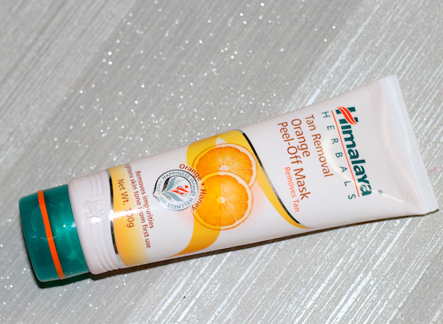Himalaya Herbals Tan Removal Orange Peel Off Mask Review