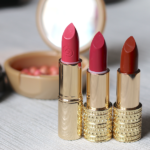 Oriflame Giordani Gold Jewel Lipstick – Cerise Pink, Honey Chestnut, Rose Petal Review