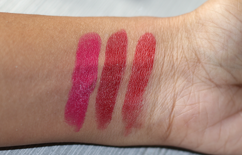 Elle 18 Color Pops Matte Lip Colors Review Swatches Photos