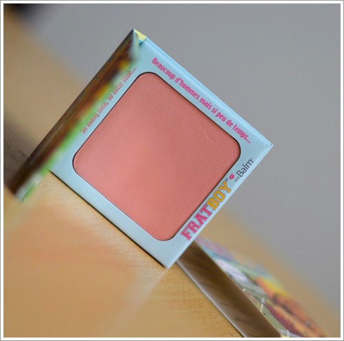 theBalm Fratboy Blush Review Swatches Photos