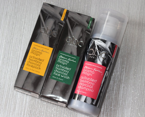 Aroma Magic Activated Bamboo Charcoal Face Wash & Shampoo Review