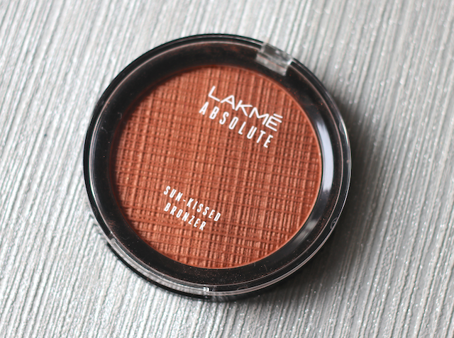 Lakme Absolute Sun Kissed Bronzer Review price swatches photos