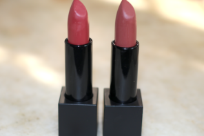 Nykaa Naughty Nude, Taupe Thrill So Matte Lipsticks Review Swatches Photos