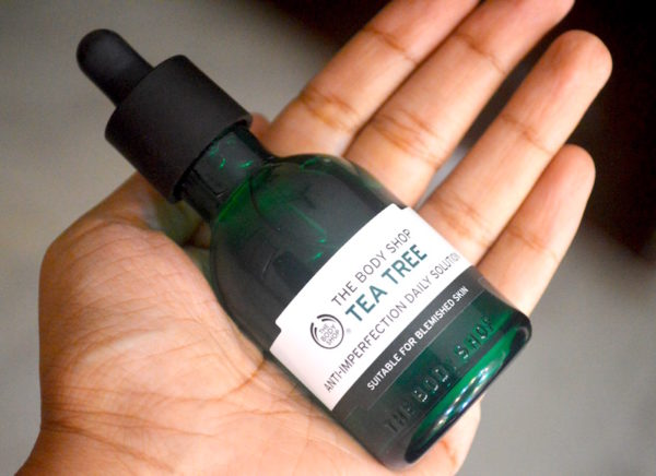 The Body Shop Tea Tree Anti imperfection Daily Solution Review