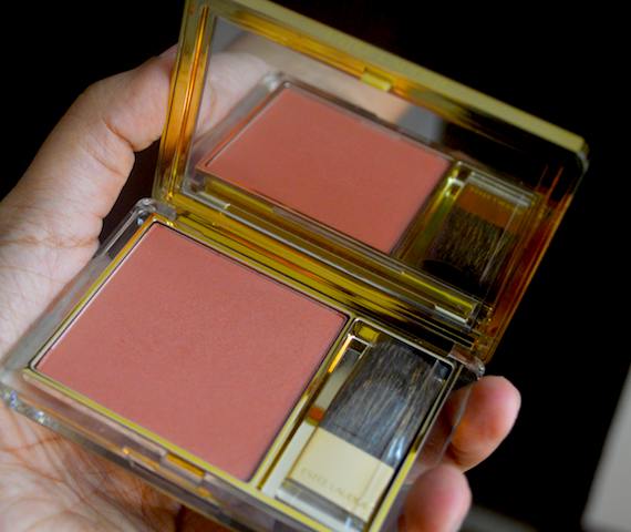 Estee Lauder Hot Sienna Pure Color Envy Blush Review swatches price
