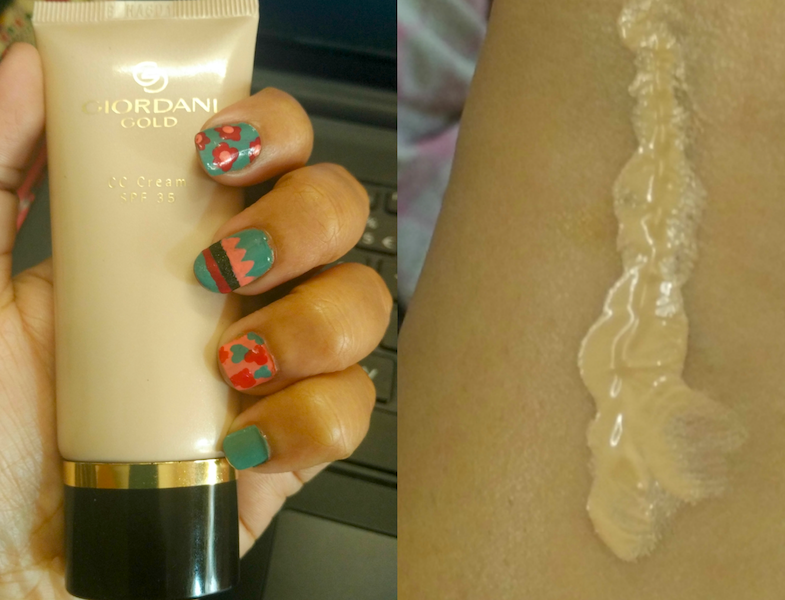 Oriflame Giordani Gold CC Cream Review Price Photos