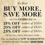 Shopbop Black Friday Sale Alert – Details & Discount Codes