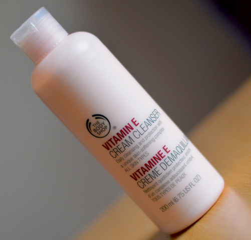 The Body Shop Vitamin E Cream Cleanser Review Price Photos