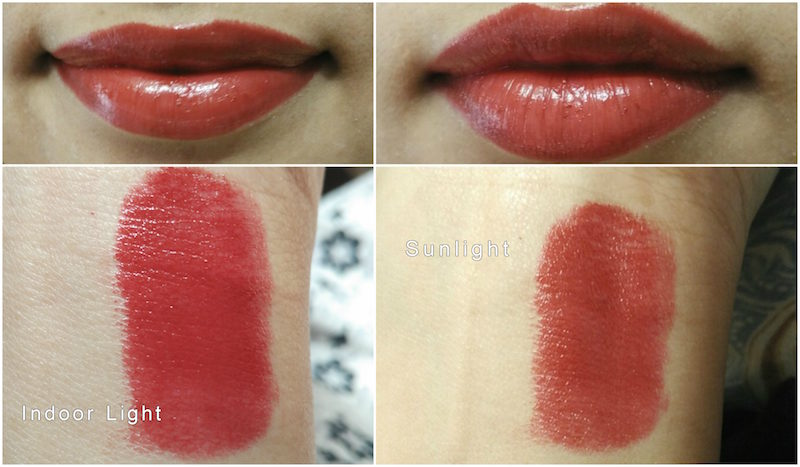 Colorbar Red Plum Crème Touch Lipstick Review Swatches Photos