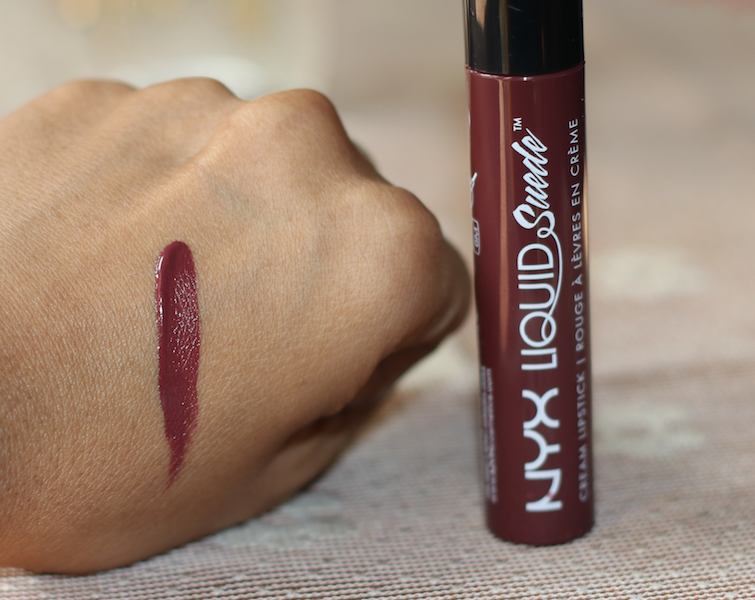 NYX Vintage Liquid Suede Cream Lipstick Review Swatches Photos