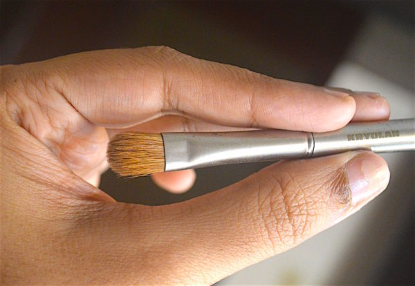 Kryolan Professional Flat Eyeshadow Brush 9714