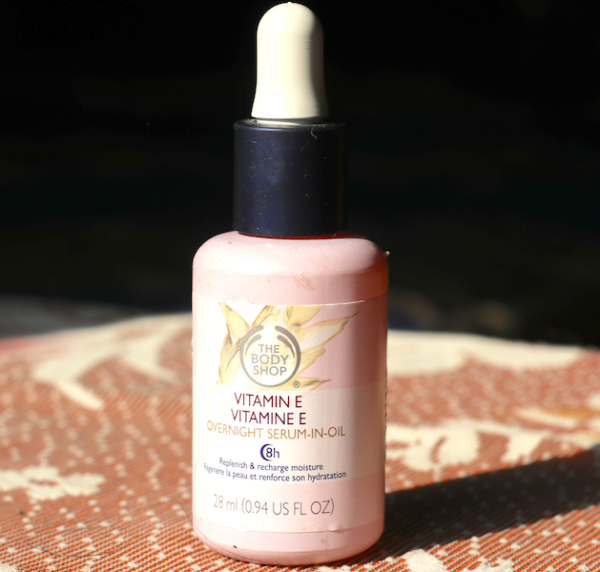 The Body Shop Vitamin E Overnight Serum-In-Oil Review Price