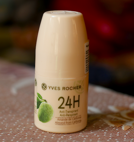 Yves Rocher 24H Anti Perspirant Almond From California Review
