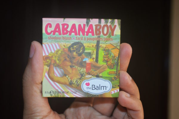 theBalm Shadow Blush Cabana Boy Review Swatches Photos