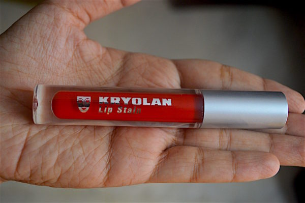 Kryolan Rock Lip Stain Review Swatches Photos