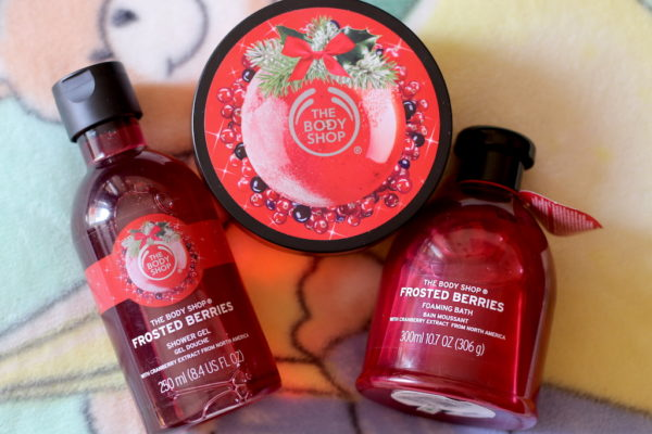 The Body Shop Frosted Berries Limited Edition Range Review