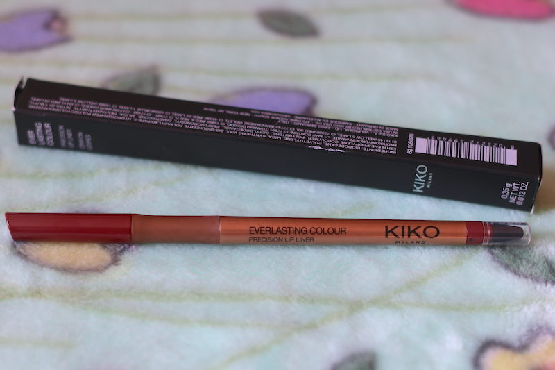 Kiko Ever Lasting Contour Lip Liner 404 Review Swatches Photos