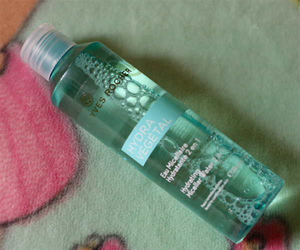 Yves Rocher Hydra Vegetal Hydrating Micellar Water 2 in 1 Review