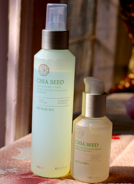 The Face Shop Chia Seed Serum & Soothing Mist Toner Review