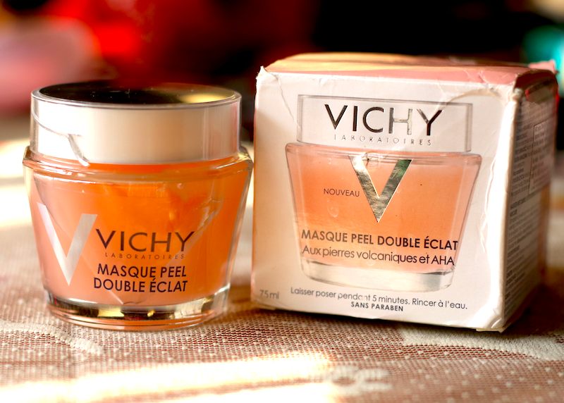 Vichy Double Glow Peel Mask Review Photos Price India