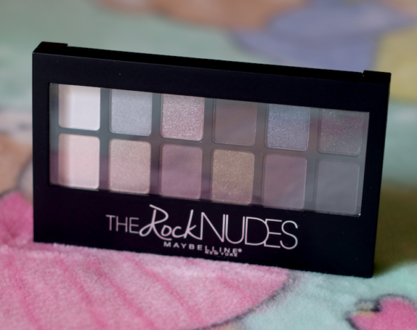 Maybelline The Rock Nudes Eye Shadow Palette Review Swatches Look