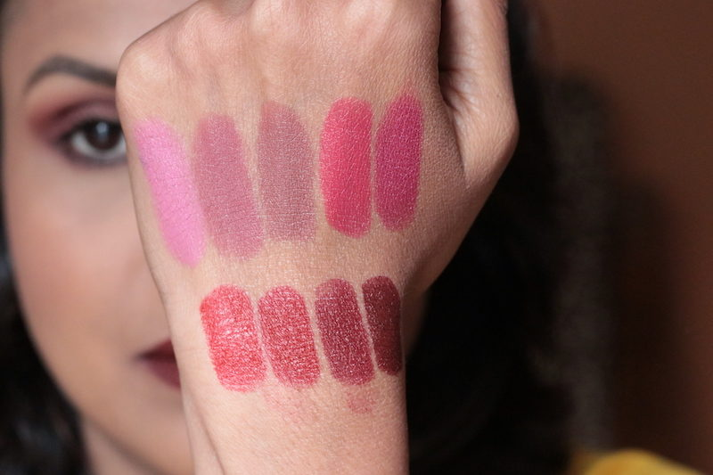 Maybelline Creamy Matte Lipsticks Review swatches photos price