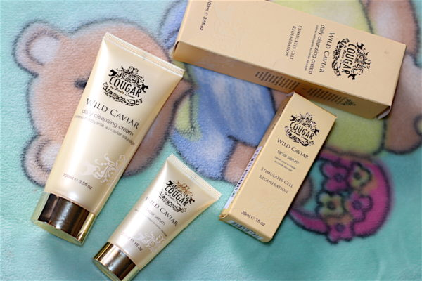 Cougar Wild Caviar Facial Serum & Cleansing Cream Review