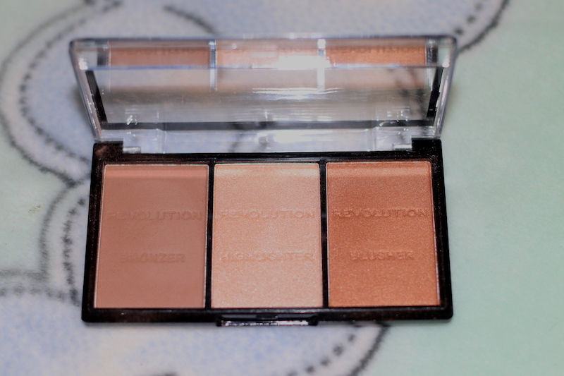 Makeup Revolution Ultra Sculpt & Contour Kit review swatches photos india