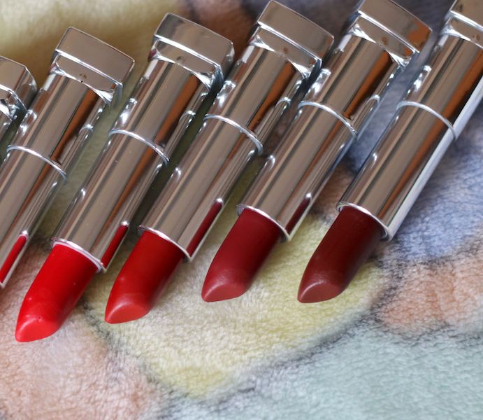 New : 9 Maybelline Creamy Matte Lipsticks Review Swatches Photos