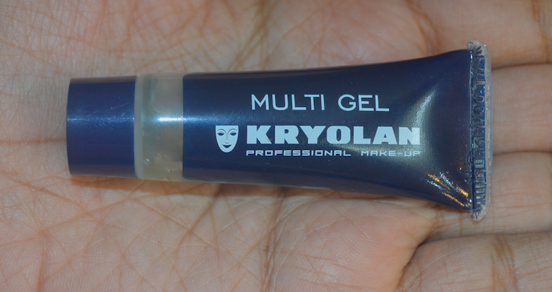 Kryolan Multi Gel Clear Review Price Photos Swatches