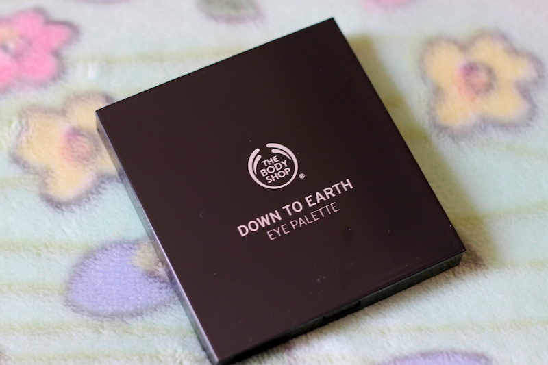 The Body Shop Down To Earth Eyeshadow Palette Plum (04) Review