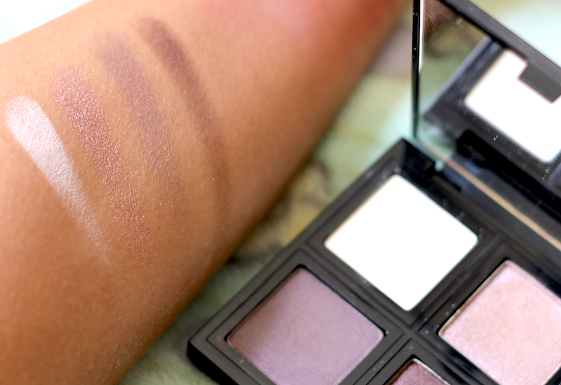The Body Shop Down To Earth Eye Shadow Quad Plum (04) Review