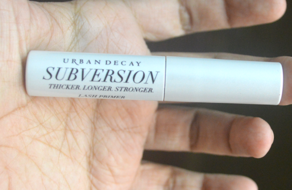 Urban Decay Subversion Lash Primer Review Photos